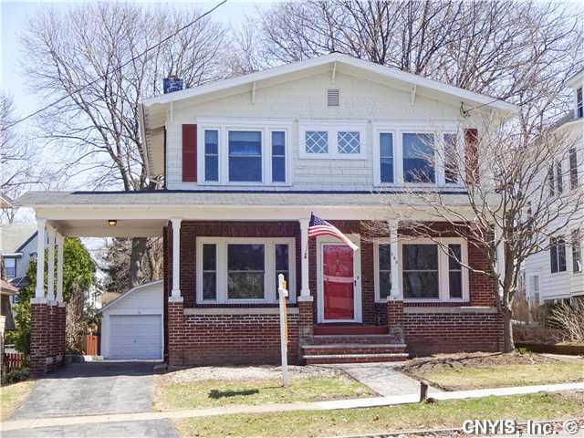 165 Shotwell Park, Syracuse, New York 13206