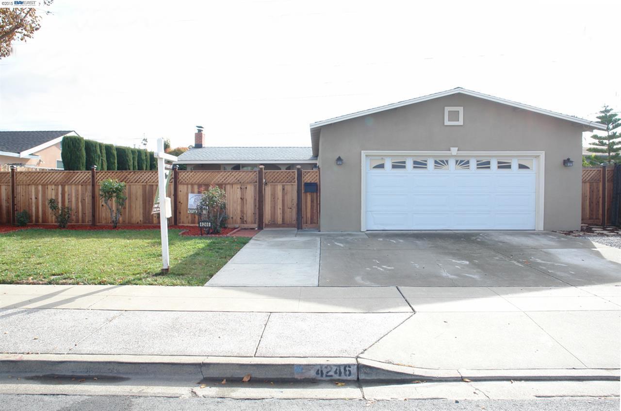 4246 DOANE St, Fremont, CA 94538